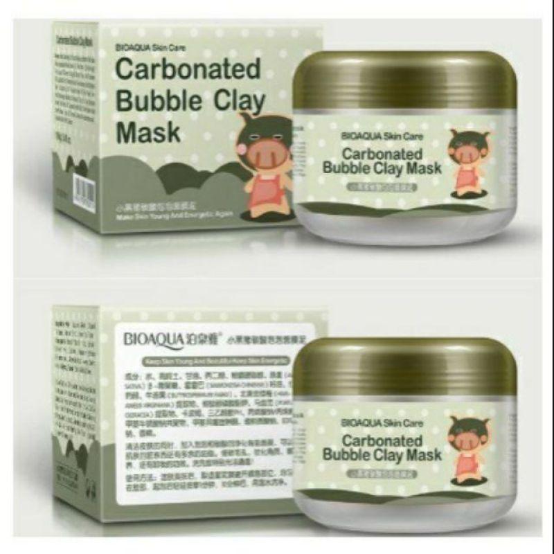Mặt nạ sủi bọt thải độc bì heo Carbonated Buble Clay mask Bioaqua giá rẻ