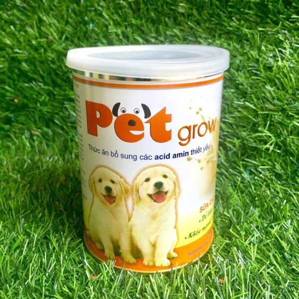 Sữa cao cấp dành cho chó trên 1 ngày tuổi Pet Grow an toàn, bổ dưỡng – Xudapet PG05