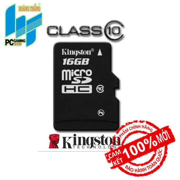 Thẻ nhớ Micro SDHC Kingston 16GB (Class 10)