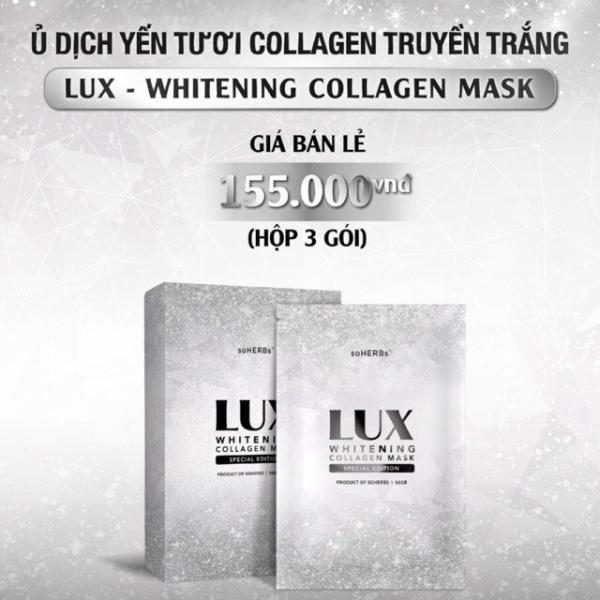 Ủ dịch yến tươi colagen truyền trắng siêu hot ( 3 gói lẻ ) giá rẻ