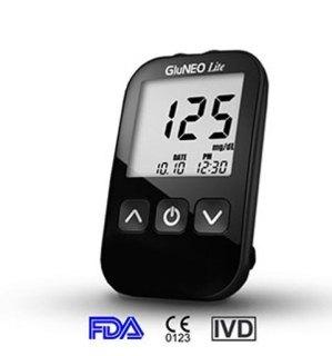 Máy đo đường huyết GluNEO Lite + Tặng 10 que thử và 50 kim chích máu thumbnail