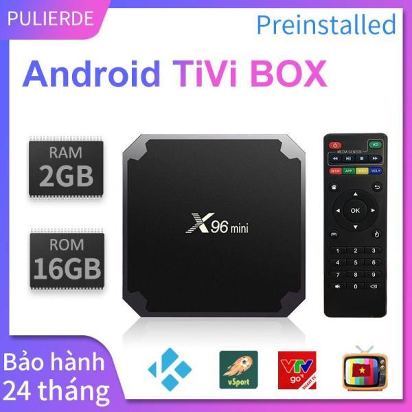 Bảng giá Android tivi box X96 Mini Ram 2gb Rom 16GB ANROID 7.1.2 4K Máy nghe nhạc smart tv box Amlogic S905W x96mini Điện máy Pico