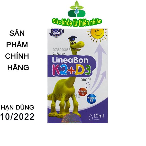 [Lấy mã giảm thêm 30%]{ Tặng Quà } Lineabon Vitamin D3 + K2 Tăng Hấp Thu Canxi Cho Trẻ - Trẻ Cao Lớn Khỏe Mạnh