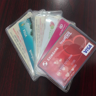 Combo 5 túi đựng thẻ ATM, bằng lái xe, card víit chống xước thumbnail