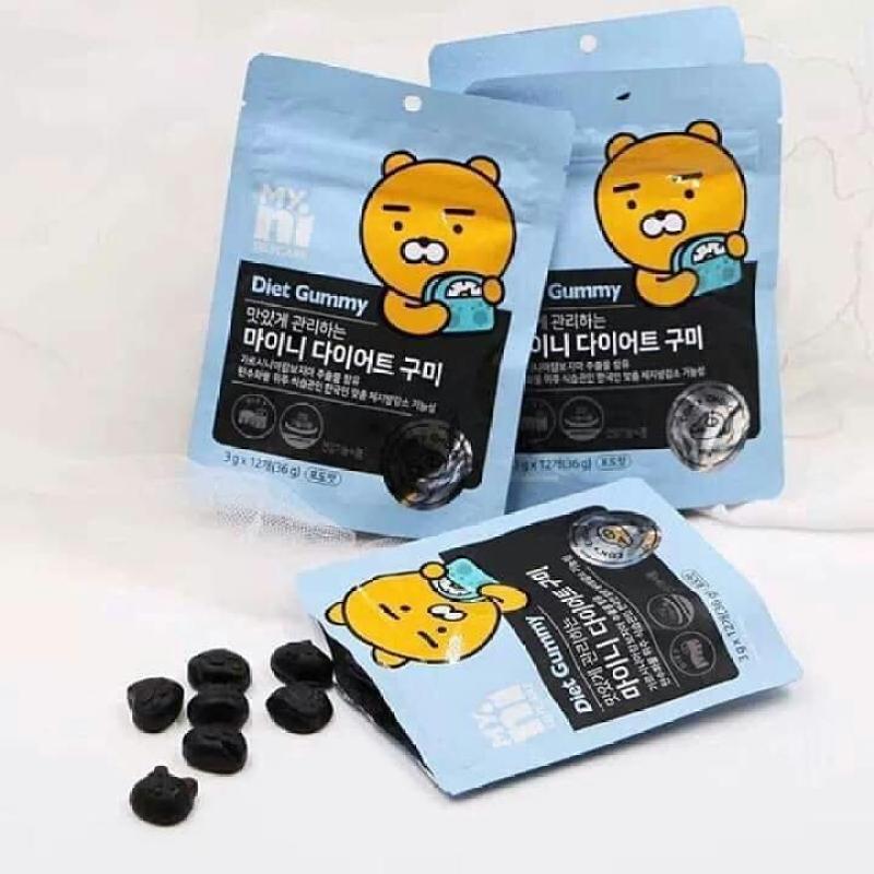 Kẹo giảm cân diet gummy kakao hàn quốc túi 12 viên