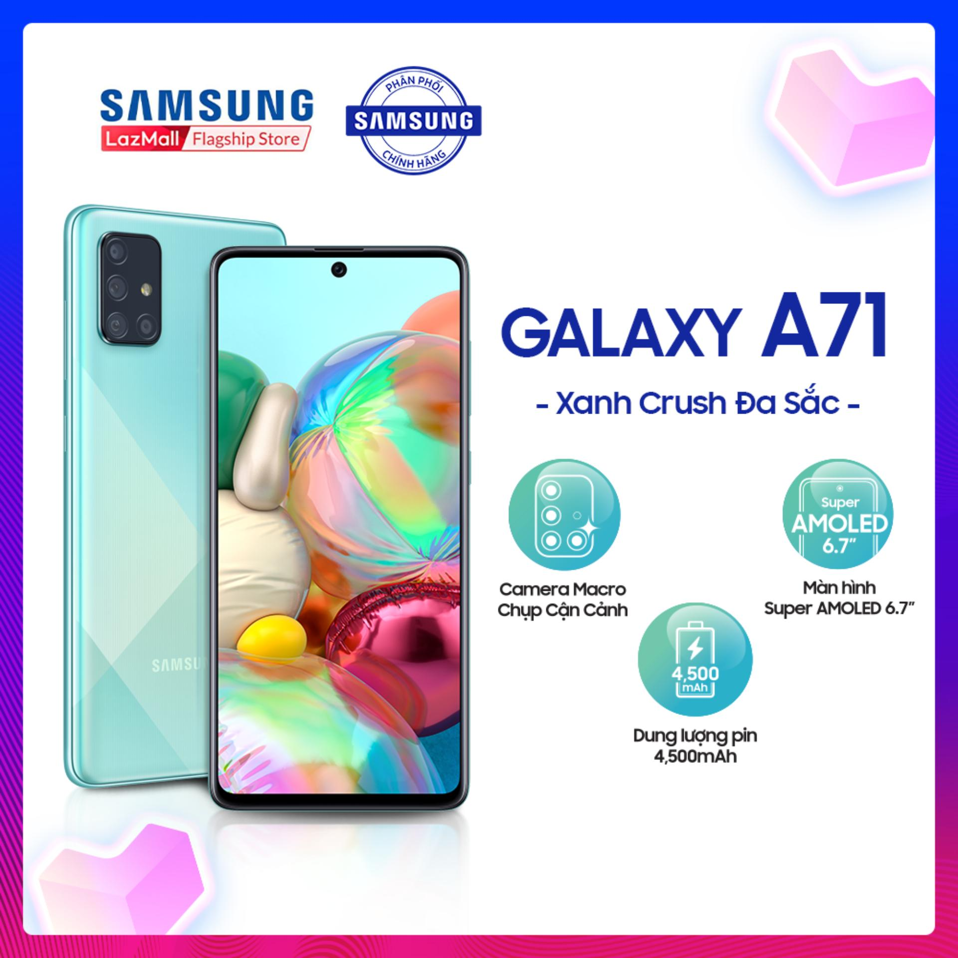 Điện Thoại Samsung Galaxy A71 128GB (8GB RAM) - SM-A715FZSEXXV...