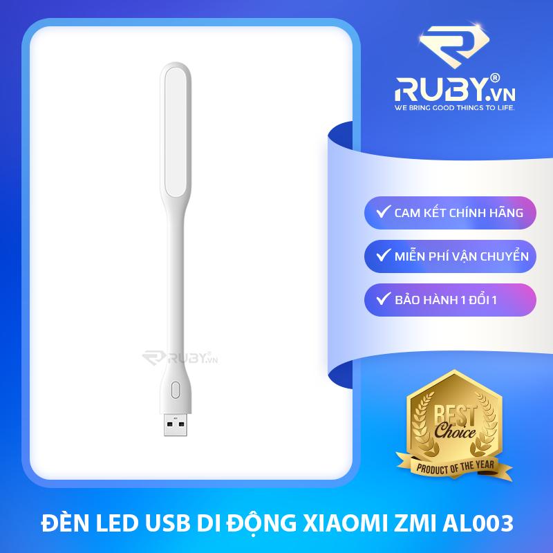 [Chính hãng] Đèn LED USB di động Xiaomi ZMI AL003, 5 Chế Độ Sáng ánh sáng trắng vàng bảo vệ mắt