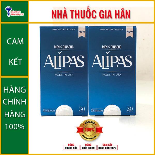 Sâm Alipas New / Alipas lộ 30 viên - Tăng Cường Sức Khỏe Sinh Lý Nam