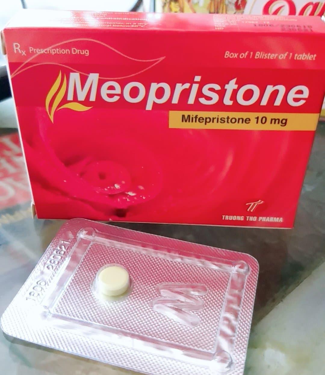 Viên uống khẩn cấp 120h -Meopristone 10mg.(combo 2 viên)