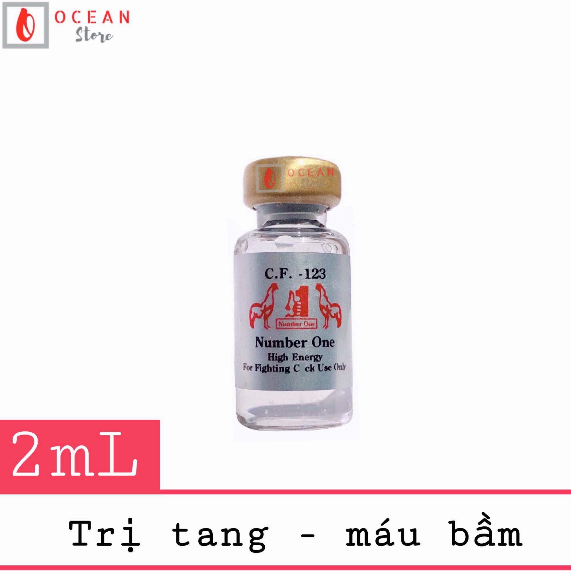 Thuốc trị tang cho gà đá CF 123 (lọ 2ml)