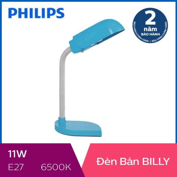 Đèn bàn Philips Billy 11W (Xanh dương)