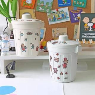 Thùng rác mini để bàn - Thùng rác mini văn phòng tiện dụng trang trí độc đáo Mimo Mart thumbnail