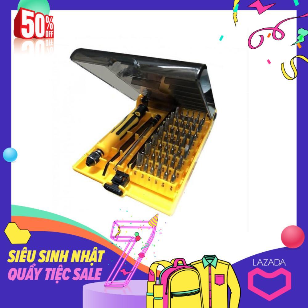 Bộ Tua Vít Đa Năng 45 Món Jackly JK-6089 đầu màu ngẫu nhiên