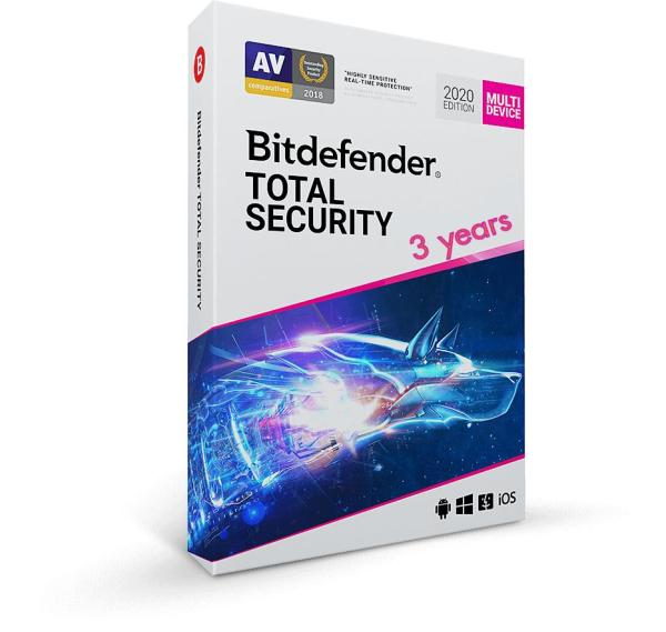 Giá Bitdefender  Total Security 2020 1pc/3 năm