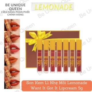 Son Kem Lì Nhẹ Môi Lemonade Want It Got It Lipcream 5g thumbnail