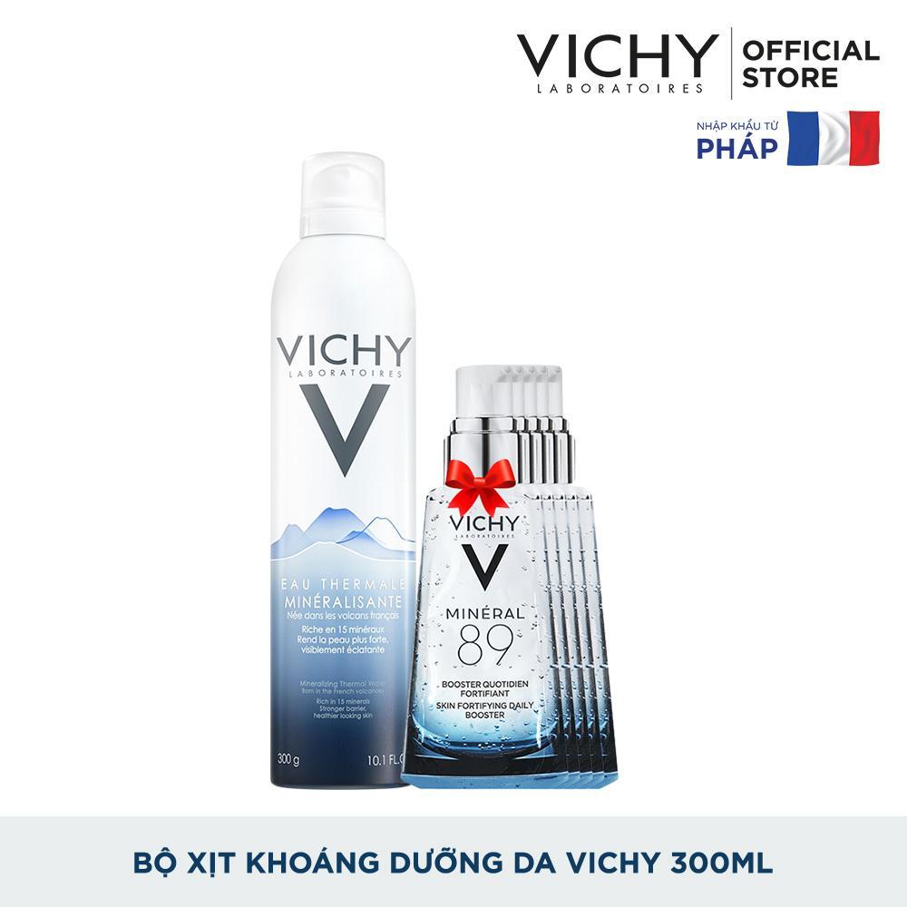 Mã Giảm Giá tại Lazada cho Bộ Xịt Khoáng Dưỡng Da Vichy Mineralizing Thermal Water 300ML Cung Cấp độ ẩm Cho Da Mịn Màng Da Trắng Sáng Mượt Mà Chỉ Sau Một Thời Gian Ngắn