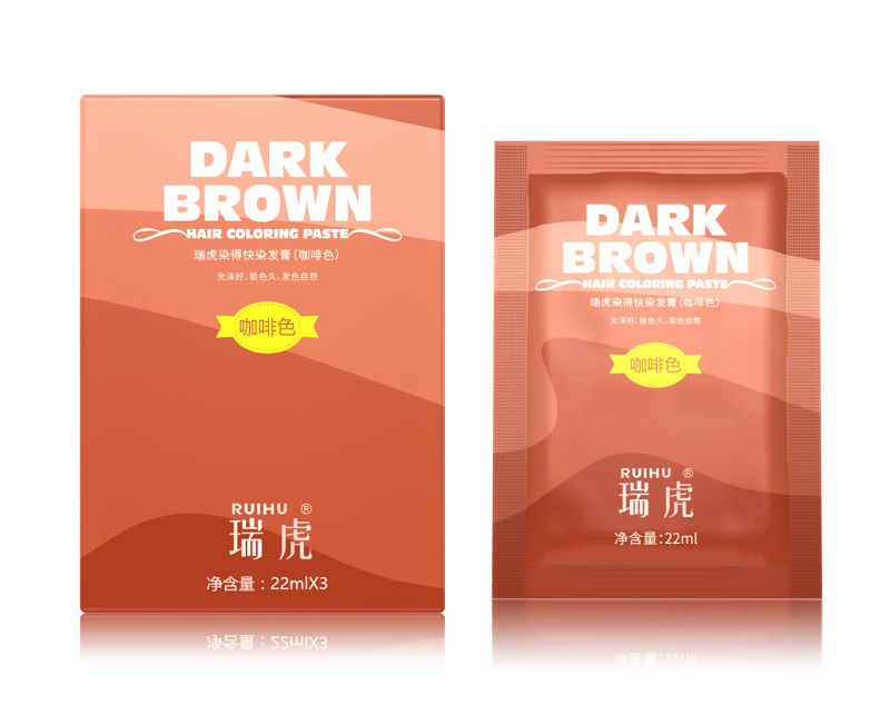 [1 GÓI - GỘI NHUỘM TẠI NHÀ] Nhuộm tóc thảo mộc - Màu nâu hạt dẻ sáng nhập khẩu