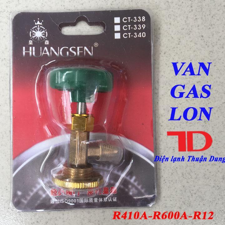 Van GAS Lon R410A R600A R12 HONGSEN
