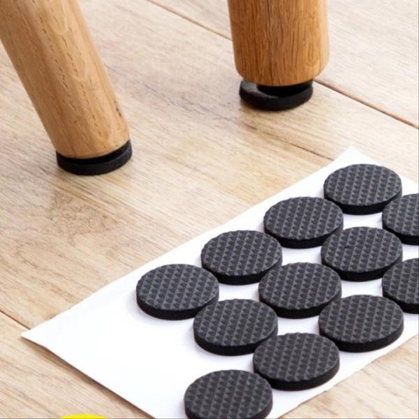 Combo 30 miếng lót chân bàn ghế (Hình tròn, Hình vuông)