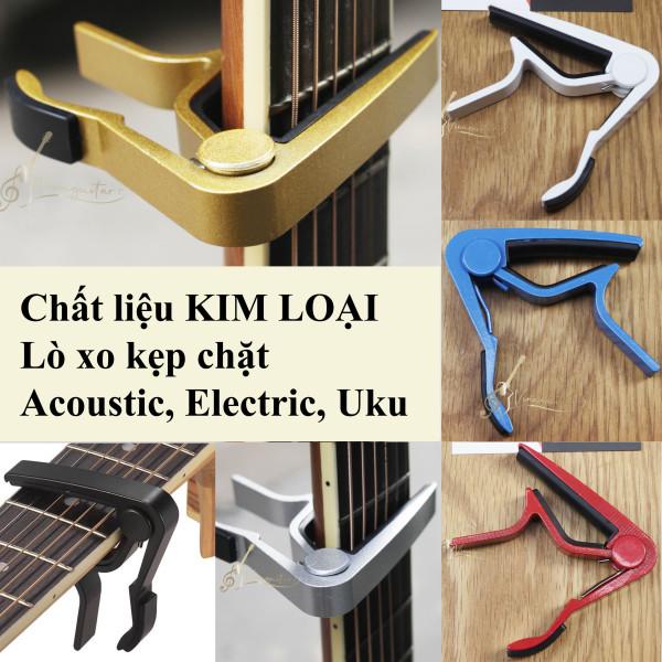 Capo Kẹp Đàn Guitar Kim Loại Chất Lượng Cao Cho Acoustic và Đàn Điện AC