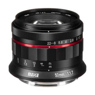 Ống kính Meike MK-50mm f 1.7 cho Canon RF lấy nét thủ công thumbnail