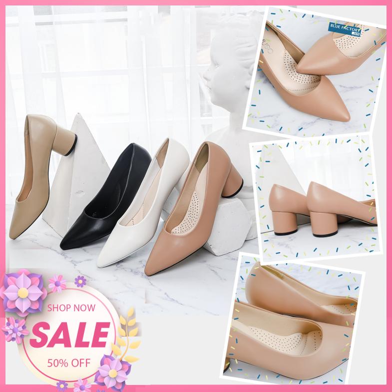 Giày cao gót - Giày Cao Gót Búp Bê 5cm  MUSO Mũi Nhọn Gót Tròn Kiểu Dáng Basic - Giày búp bê mũi nhọn  - Giày cao gót 5 phân - Giày búp bê nữ 5 phân - Chất liệu mềm mại, màu sắc trẻ trung - Hàng chính hãng , hàng chuẩn xuất Nhật giá rẻ