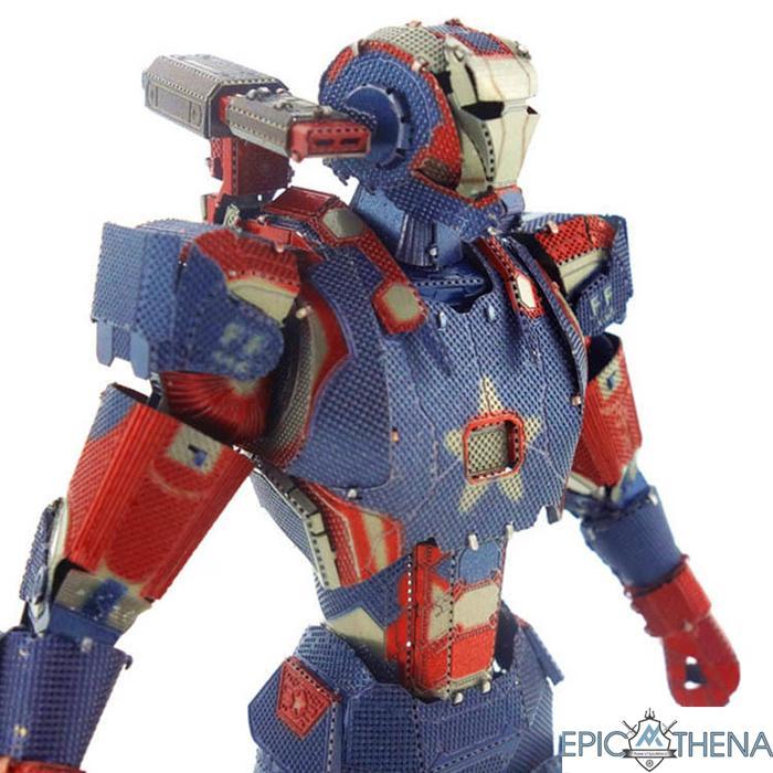 Mô Hình Lắp Ráp Kim Loại 3D - Iron Man Có Giá Rất Cạnh Tranh