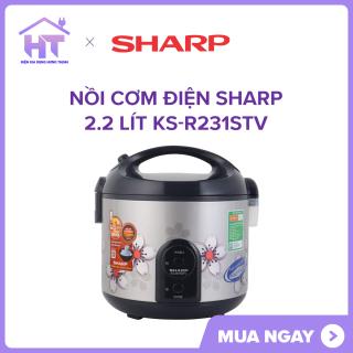 Nồi cơm điện Sharp 2.2 lít KS-R231STV MỚI sản xuất tại Thái Lanchất lượng tốt. thumbnail