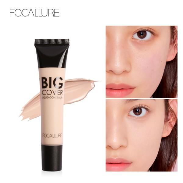 Kem che khuyết điểm FOCALLURE mềm mịn không chứa dầu giúp làm sáng tông màu da bảo vệ da hoàn hảo - INTL giá rẻ