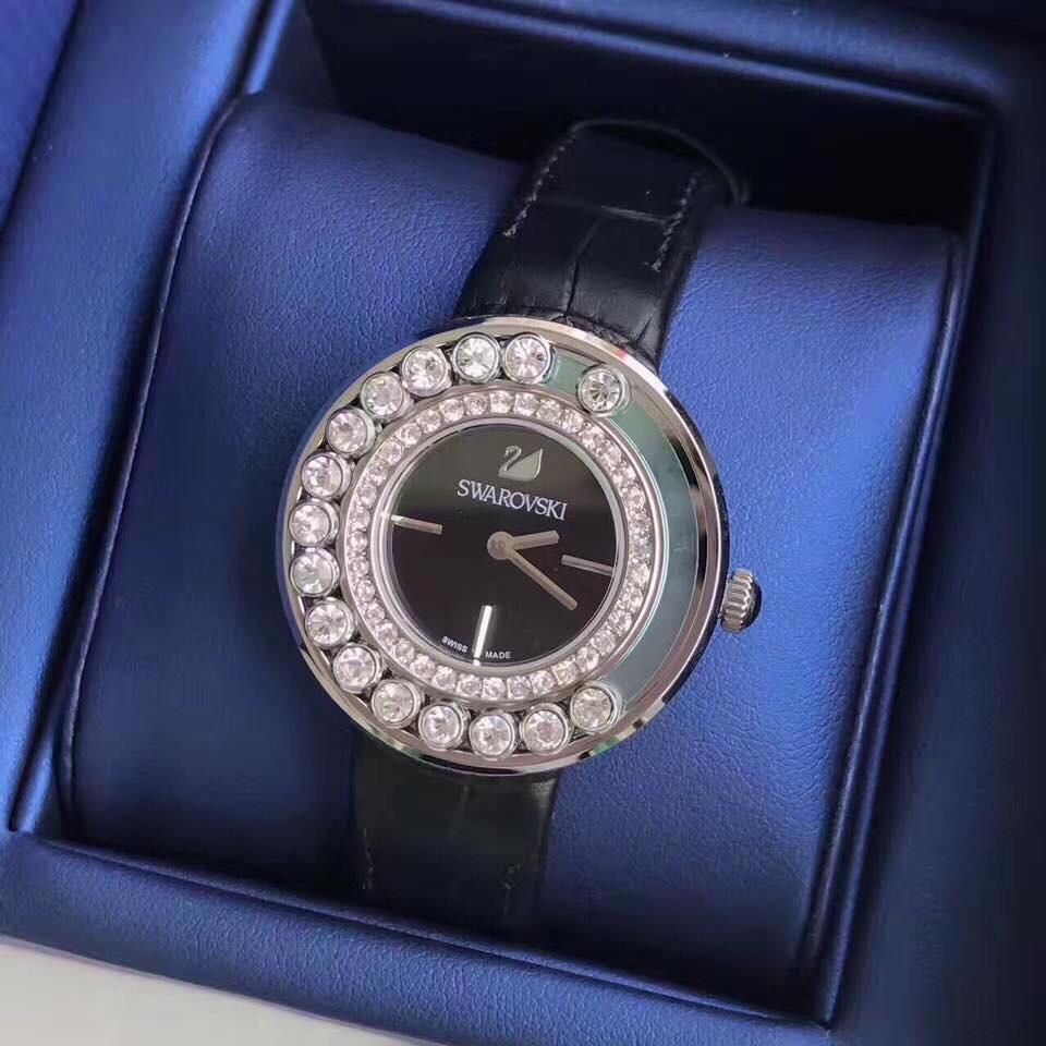 Đồng hồ nữ Swarovski CRYSTALLINE WHITE HÀNG CAO CẤP bán chạy