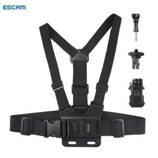 Dây Đeo Ngực ESCAM RCSTQ Cho DJI Osmo Pocket 1 2/Camera Hành Động/Kính Viễn Vọng