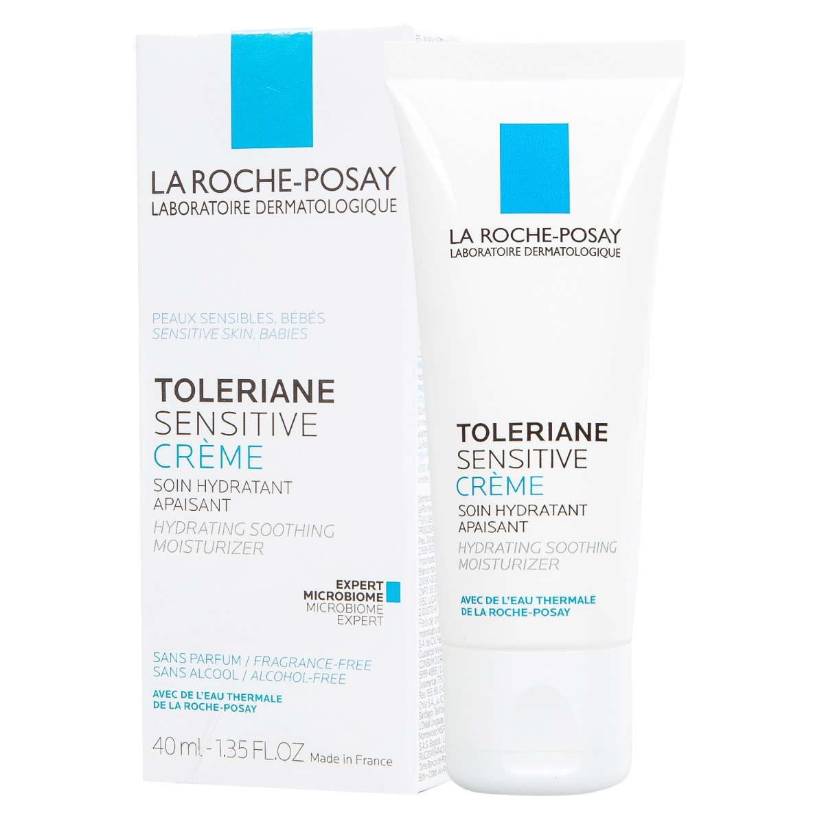 Kem Dưỡng Làm Dịu Và Bảo Vệ Da Quá Nhạy Cảm La Roche-Posay Toleriane Skincare (40ml)