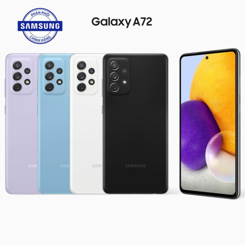 Điện thoại Samsung Galaxy A72 (8GB/128GB-256GB) - Hàng chính hãng