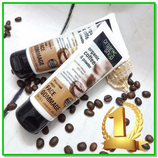 Tẩy tế bào chết Tẩy da chết dạng Coffee sạch nhờn ngừa mụn