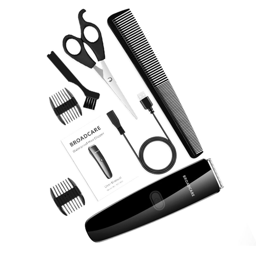 Hair Clippers for Men, Super Quiet And Lightweight Hair Trimmer from BROADCARE, Rechargeable Hair Clipper Cordless Hair Trimmer Electric Hair Cutter Shaver Grooming
