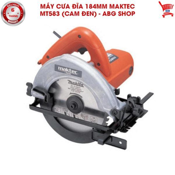 Máy cưa đĩa 184mm Maktec MT583 (Cam đen) - ABG shop