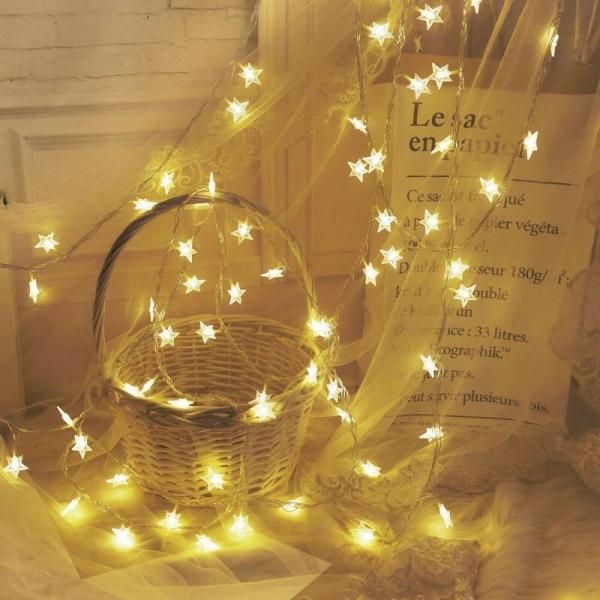 [ Cắm USB ] 3 mét Dây đèn ngôi sao 20 bóng cắm USB, đèn trang trí, decor phòng ngủ