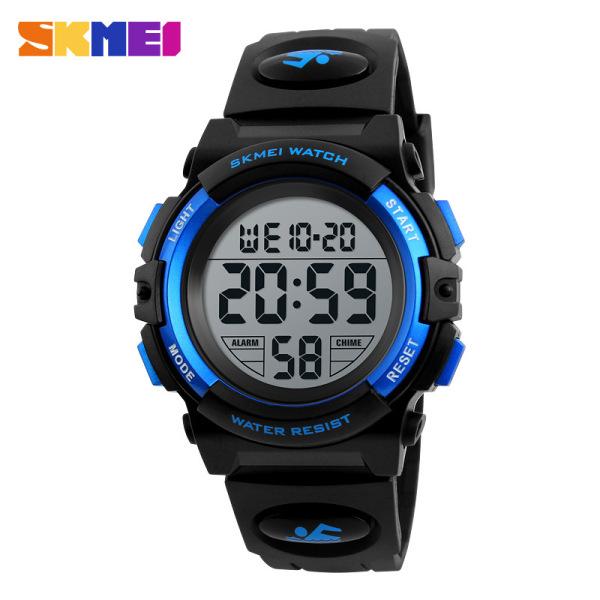 Đồng hồ điện tử trẻ em - đồng hồ thời trang bé trai dây cao su Skmei 1266 nhiều màu bán chạy