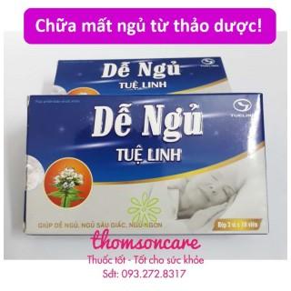 [Lấy mã giảm thêm 30%]Dễ ngủ Tuệ Linh - hỗ trợ giúp ngủ ngon từ thảo dược sản phẩm có nguồn gốc xuất xứ rõ ràng dễ dàng sử dụng cam kết sản phẩm y như hình thumbnail