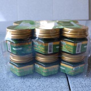 12 hủ Dầu Cù Là Thơm Green Herb Thái Lan 20g thumbnail