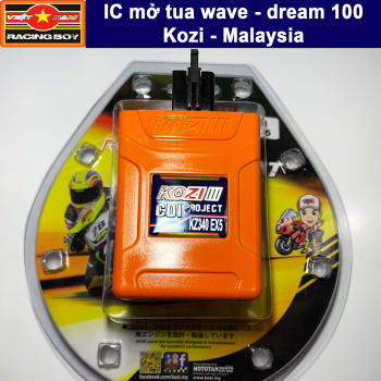 IC mở tua Wave Dream 100, Sirius 50, Exciter 50, Elegant 50, Cup 50 80 80 - Kozi Malaysia