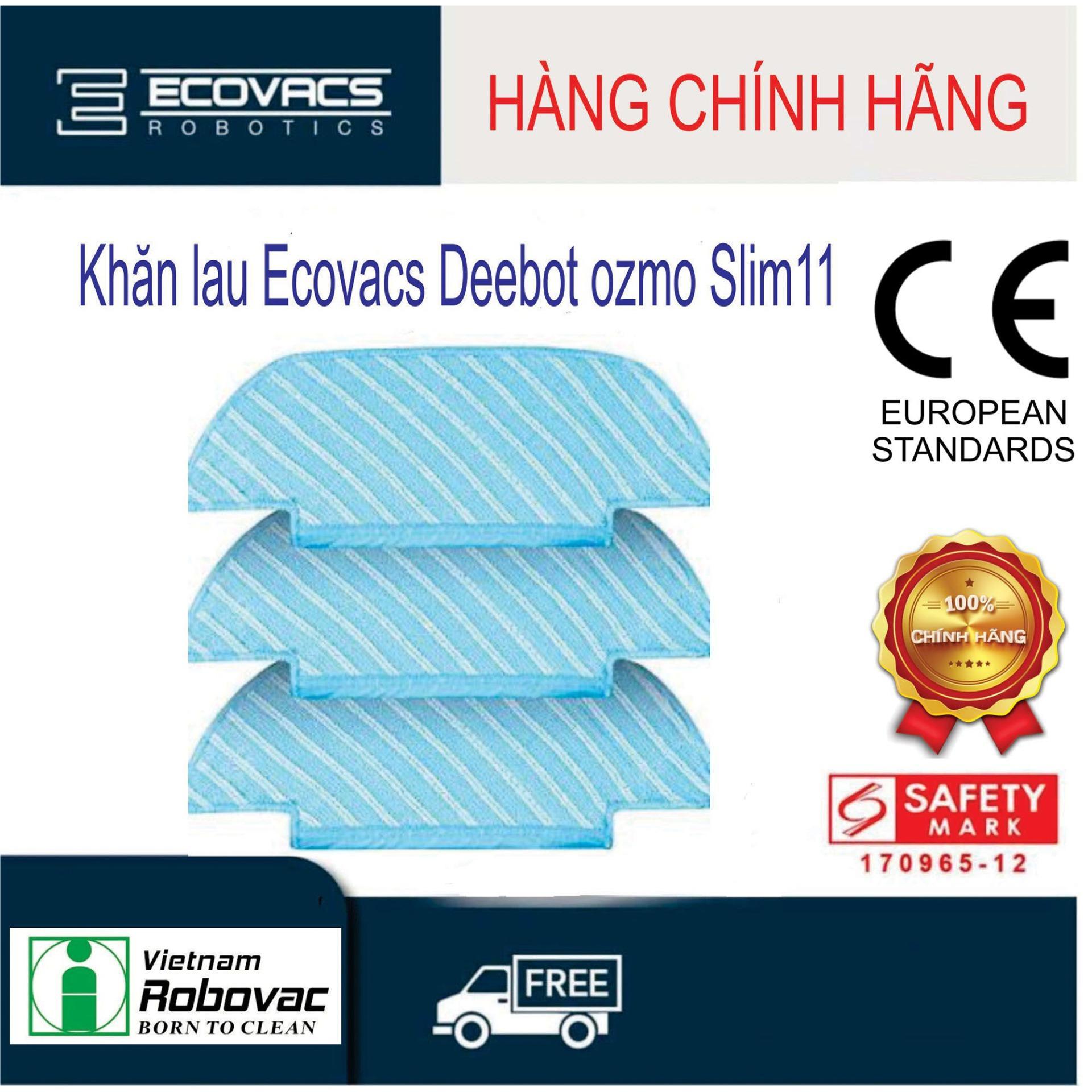 Giá Bộ khăn lau Deebot OZMO Slim11  ( 3 cái )