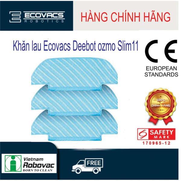 Bộ khăn lau Deebot OZMO Slim11  ( 3 cái )