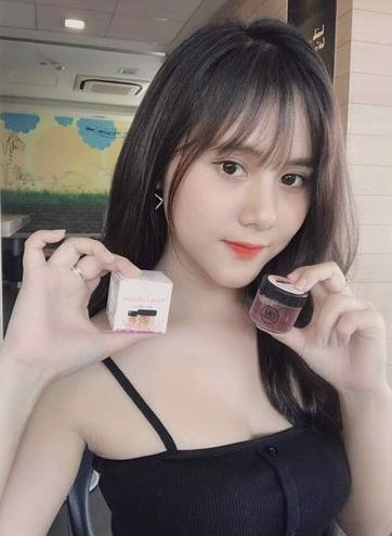 Mặt nạ Yến Tươi Collagen Hoa Hồng free cọ nhập khẩu