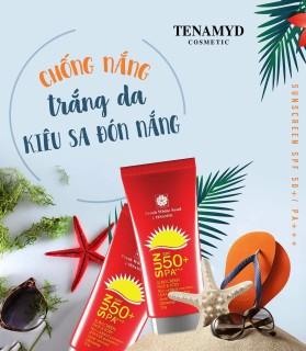 Kem chống nắng trắng da Fresh White Sand SPF50 PA+++ TENAMYD 50ml thumbnail