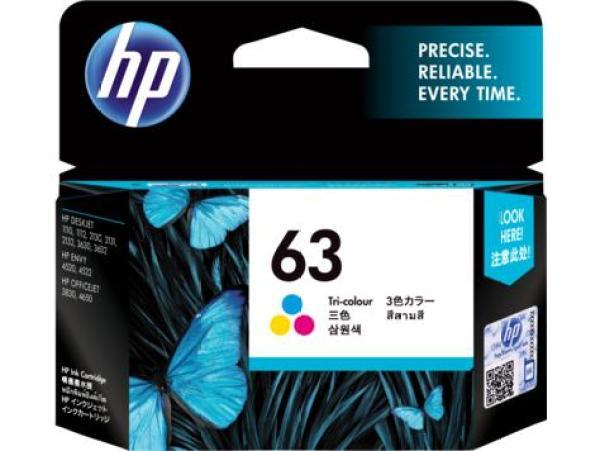Bảng giá HP 63 Tri-color Original Ink Cartridge (F6U61AA) Phong Vũ