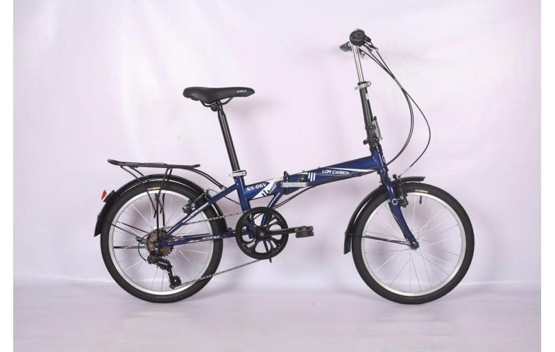 Phân phối Xe đạp gấp Low Carbon GX06V 2019