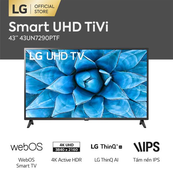 Bảng giá Smart Tivi LG 4K 43 inch 43UN7290PTF Model 2020 - Hãng phân phối chính thức