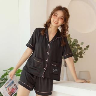 Bộ Đồ Pijama Nữ Hàng Thiết Kế Chất Liệu Lụa Cao Cấp VIBES Silk Py Set thumbnail