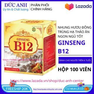 Vitamin B12 tăng cân tăng sức đề kháng cho cơ thể giúp ăn ngon ngủ tốt hộp 100 viên HSD 2023 - đức anh center thumbnail